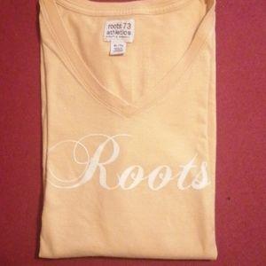 Roots peach t shirt